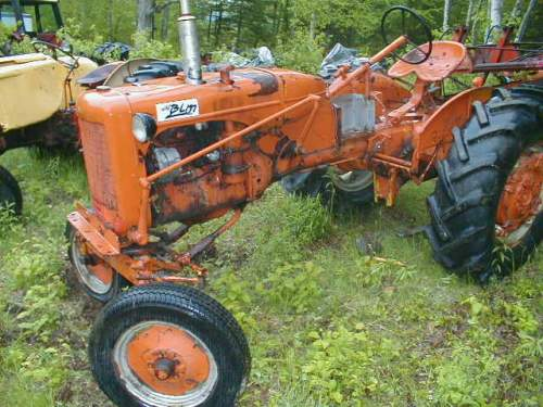 Allis Chalmers Pedal Tractor Decals : Allis chalmers b c ca parts
