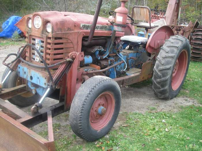 Ford 4000 Backhoe Parts : Ford parts