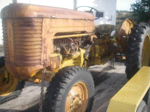 1956 Massey Ferguson 40 Tractor : Massey ferguson parts
